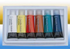 Paints for textile printing (textile)