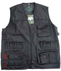 Vests for hunting and fishing