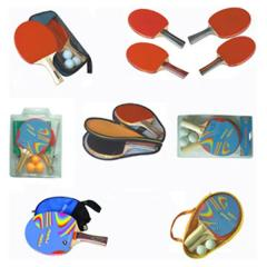 Sets for table tennis