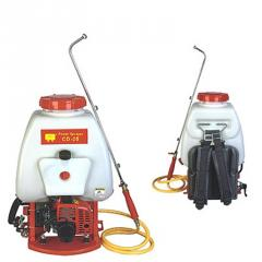 Portable spraying machines backpack