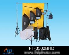 F series professional studio flash light kit