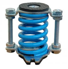 Springs, shock-absorbers, dampers, metallic