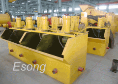 Separators for enrichment of manganese ores