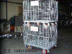 供应全国各地仓储笼仓库笼蝴蝶笼及各种非标物流设备仓储笼供应商