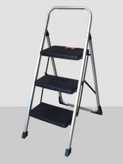 Three-section ladder