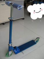 100mm PU Wheel With Light Kick Scooter