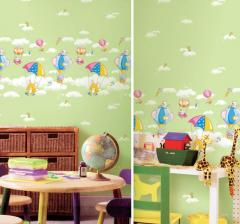 Vinyl wallpapers for a child's room