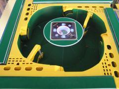 4-outlets automatic mahjong table