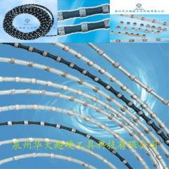 Diamond wire for cutting stone