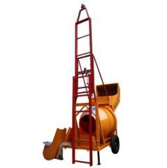 Automatic promotion concrete mixer