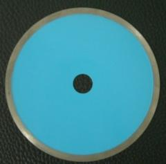 Diamond cutting blade for glass