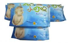Wet baby wipes