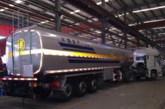 36000L Oil tank semi-trailer