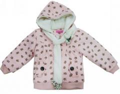 女童冬装羊羔绒外套HSC110368