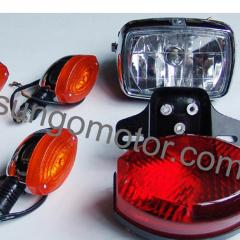 Headlamps for motorcycles