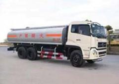 Gasoline tank trucks