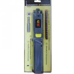 Rechargeable screwdrivers
