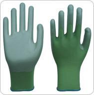 Green nitrile coated Apple-green nylon working