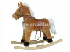 Plush rocking pony horse animal