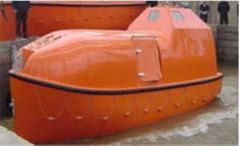Life rafts and boats