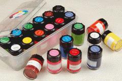 Paints, painter's, acrylic