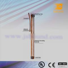 Chemical copper earth rod/electrode