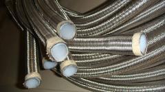 Rubber pressure pipelines