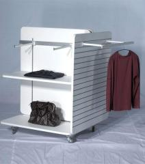 Shelves for clothes