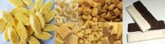 Core filled snack food production line
