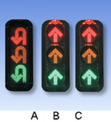 Traffic light-emitting diode