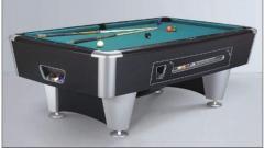 Automatic billiard tables