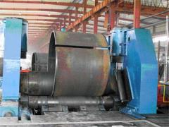Automation for the preparing of spiral tube