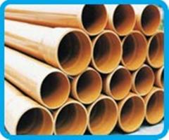 Pipes for protection of optical cable