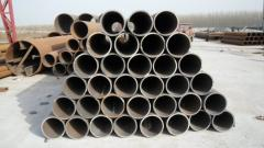 Longitudinal seam submerged welded pipe