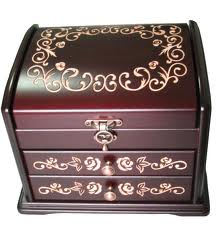 جعبه جواهرات فروشی