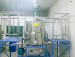 Equipment for ointments production