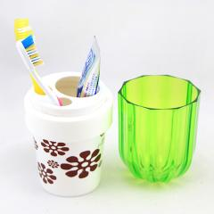 Holder for toothbrushes