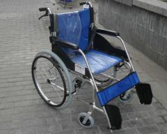 轮椅便携铝合金轮椅透气网格布折叠靠背江苏轮椅