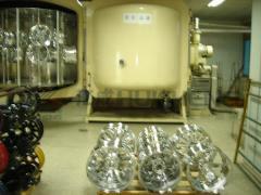 Metalizadora por sputter para los embellecedores