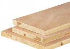 Boards, strips, slats, laths, of hard sorts of