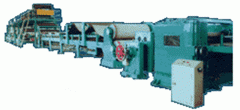 Equipment for the production of corrugation