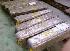 Ingots, stainless steel