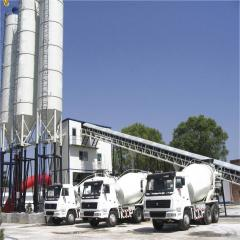 Industrial concrete mixers