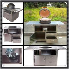 Pans or grill