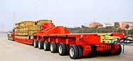 GW low bed transporter with tow bar