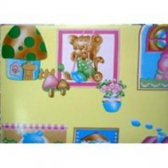 Linoleum for children`s room