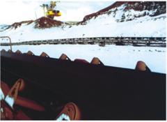 Belt conveyors, rollerless (scraper)