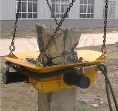 Hydraulic pile breakers SPF4 and SPF5