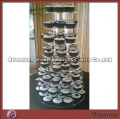 Assemble Round Shaped 8-Tier Acrylic