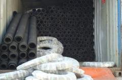 Heavy duty rubber water suction hose
